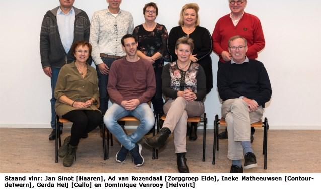 De werkgroep  DementieVriendelijke Gemeente Haaren.