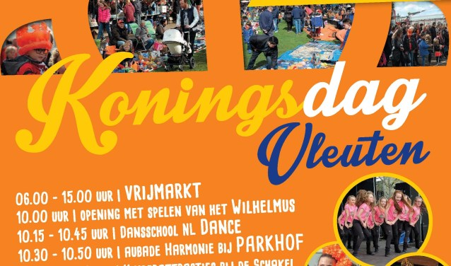 Poster Koningsdag