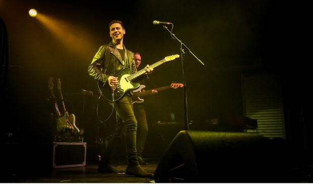 Donderdag 26 april brengt Laurence Jones in Gebouw-T met zijn band nummers van z'n nieuwe album The Truth.  FOTO: CHRISTIE GOODWIN