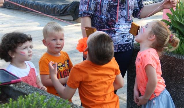 Voor de leerlingen van basisschool De Akker waren de Koningsspelen een uitgelaten feest.