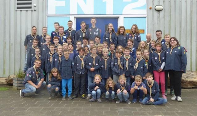 De Barendrechtse Scoutinggroep Fridtjof Nansen groep 12 bestaat deze maand precies 90 jaar en dat gaat niet onopgemerkt voorbij bij de waterscoutinggroep. (Foto: Privé)