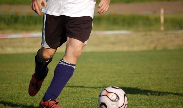 Door de overwinning op Sparta Enschede is voor dit team van Hulzense Boys een plek bij de eerste vijf ploegen nog haalbaar.