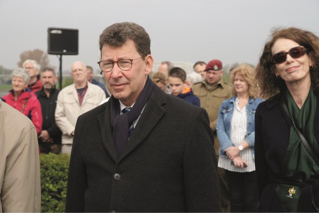 Clemens Cornielje was zaterdagmiddag te gast in Westervoort bij de herdenking van de oversteek.