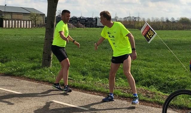 Bru's Running Team oefent in aanloop naar de Roparun