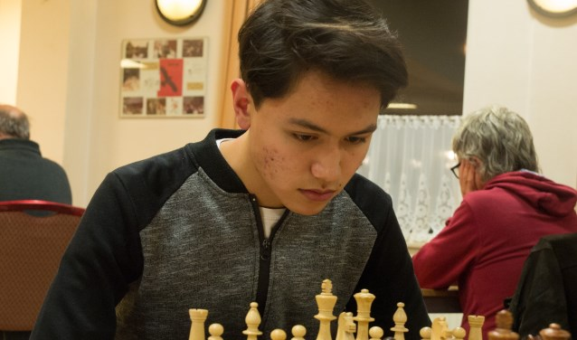 Adrian Mensing, winnende speler van Sliedrecht 2. (Foto: Privé)