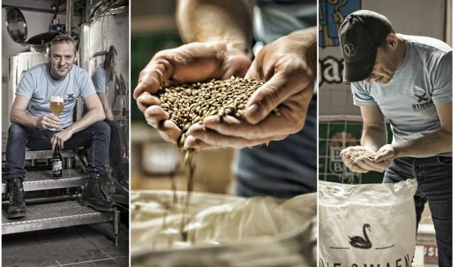 De Vughtse 'Bierista' Uwe Kalms heeft samen met horeca-ondernemers en slijter aan het Moleneindplein de handen ineen geslagen om een bier te brouwen. Het resultaat; het Moleneind, 'made in Vught'.