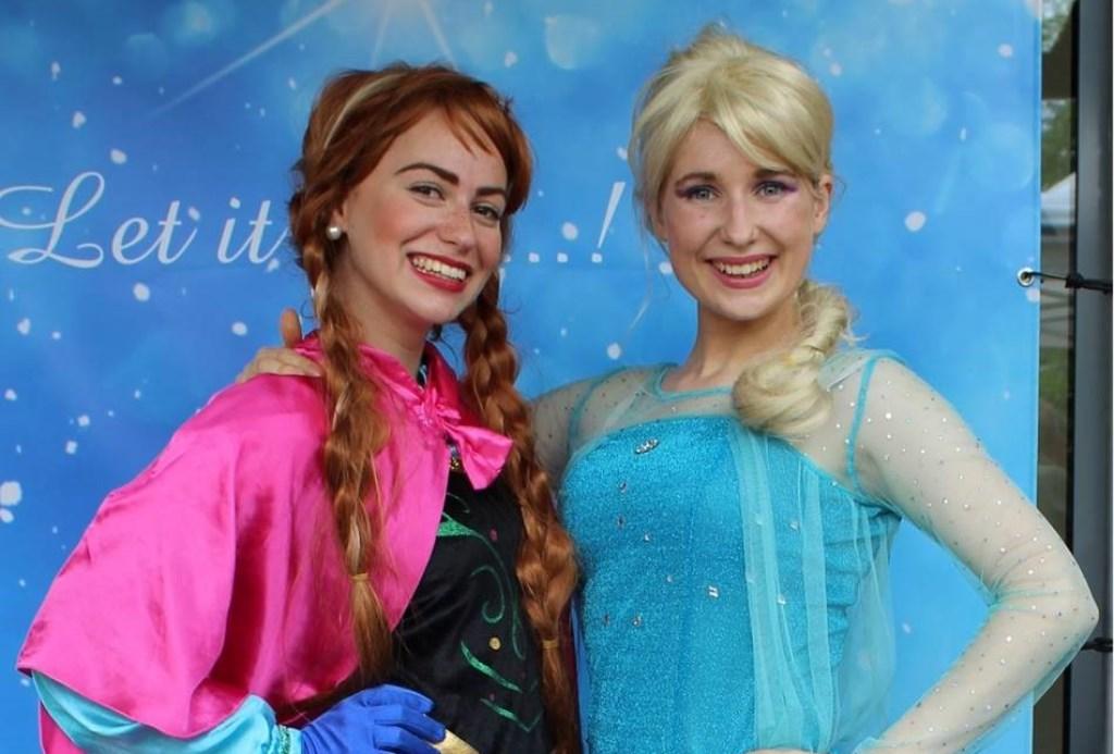 Aankomende zaterdag komen Anna en Elsa naar In de Bogaard.