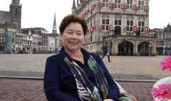 Marianne Gardien is de eerste vrouwelijke voorzitter van de S.O.G. De komende periode liggen er genoeg uitdagingen om op te pakken. Foto: Marianka Peters