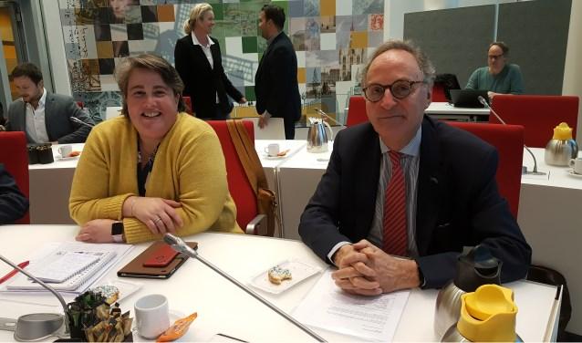 Informateurs Heleen van den Berg en Alexander Rannooy Kan. Foto: Marianka Peters