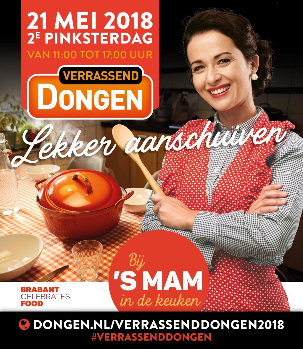 Op de website www.dongen.nl/verrassenddongen2018 staat meer informatie over het programma