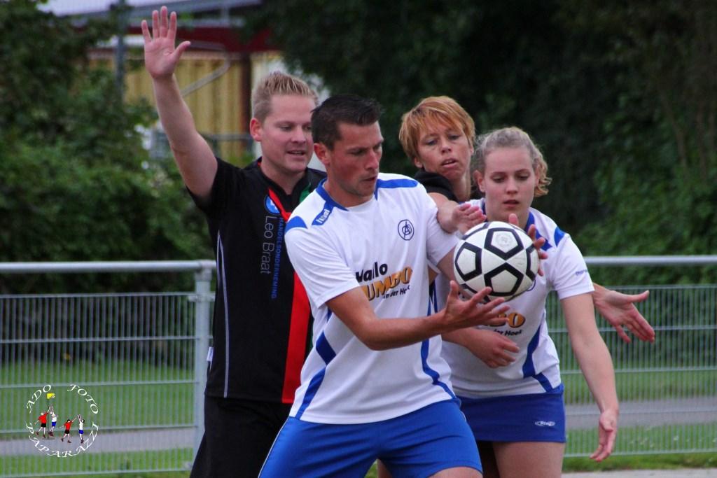 Stefan en Judith Robbemont samen goed voor 8 doelpunten Foto: Aart vd Linden © Persgroep
