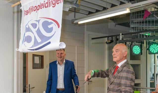 De officiële opening werd verricht door de heer De heer G.C.J.J. Peek (Gert) oud-voorzitter en één van de grondleggers van SPG MN. FOTO: Hans Lebbe