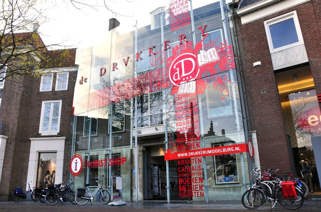Boekhandel De Drvkkery in Middelburg Foto: Gerard van der Hoeven © Persgroep