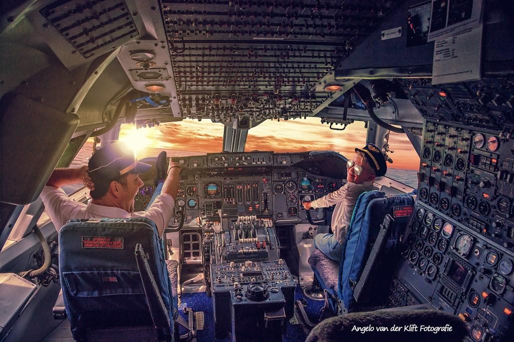 Ogen op de horizon houden jochie! Foto: Angelo van der Klift © Persgroep