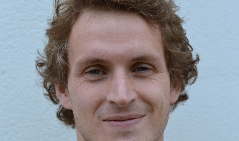 Cas Bekken van VV Terborg scoorde donderdag driemaal. (foto: Gerrit van Dijken, Magerago Foto)