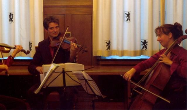 Het Sciolto trio in actie