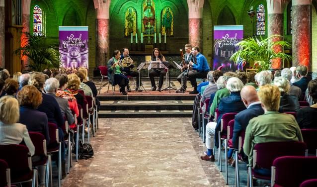 Het Orlando Quintet op 8 april in Hoeven.