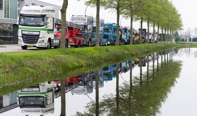 """Léon Koolen, voorzitter van Stichting En Route: """"De VIP's zitten apentrots in de cabines. Je kunt hen geen groter plezier doen dan even naar hen te zwaaien."""""""