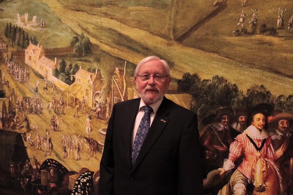 Henk Smeets, voorzitter van het Vughts Museum. Foto: Lisette Broess © Persgroep