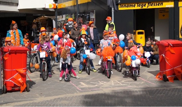 Start veriserde fietsendefilé 2017