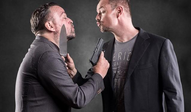 Het cabaretduo Arie en Silvester komt op donderdag 27 september naar De Verwachting, Ritthem