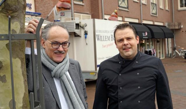 Cees Meijering en Willem Bor kijken uit naar aanpak Winkelhart (Foto: Jan Woldberg)