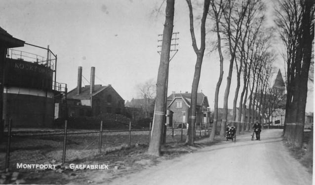Niet veel mensen zullen weten dat er een gasfabriek heeft gestaan aan de Julianalaan in Montfoort.