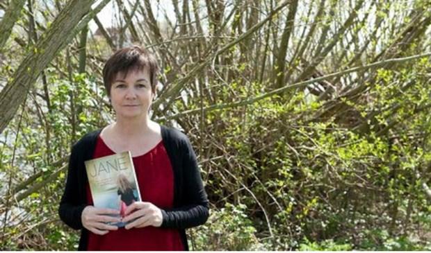 Jane Lasonders boek kreeg de titel 'Rood licht'. Eigen foto