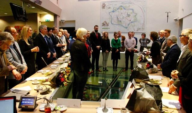 Benoeming nieuwe gemeenteraads- en commissieleden. Foto: Eveline Zuurbier