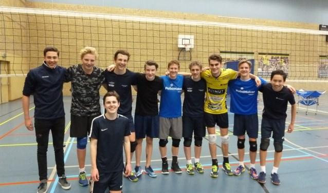 Het succesvolle B team van Inter Rijswijk