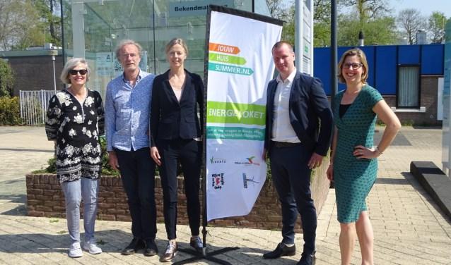 Wethouder Jeroen Brouwer opent het Energieloket Wijk bij Duurstede