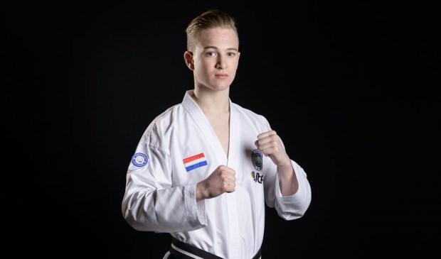 Chris van de Veerdonk behoort volgens zijn trainer tot de allerbesten.