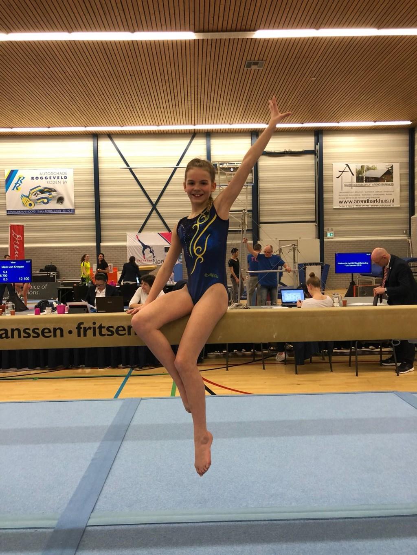 Amy Quakkelaar wist zich te plaatsen voor twee toestelfinales.