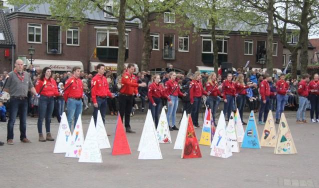 Ook dit jaar weer op 4 mei herdenken en op 5 mei de bevrijding vieren. Foto: Jan-Peter Geertman.