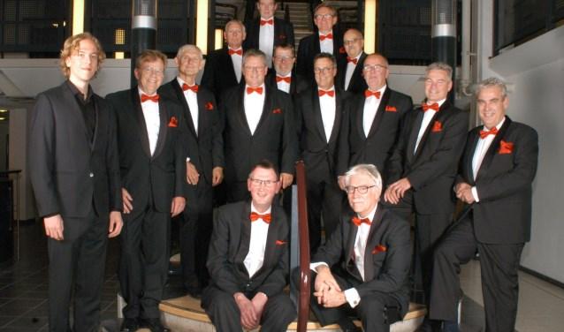 Het vocaal ensemble De Troubadours neemt een aparte plaats in tussen de mannenkoren.