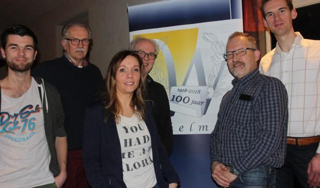 De jubileumcommissie van harmonie Wilhelmina gaat er met hulp van velen voor zorgen dat het eeuwfeest van de vereniging er een wordt met festiviteiten toegespitst op alle leeftijden. Foto: Wendy van Lijssel