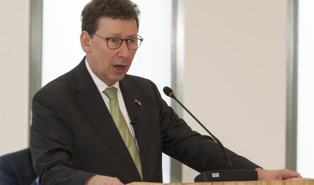 Commissaris van de Koning Clemens Cornielje. (foto: Johan Mulder)