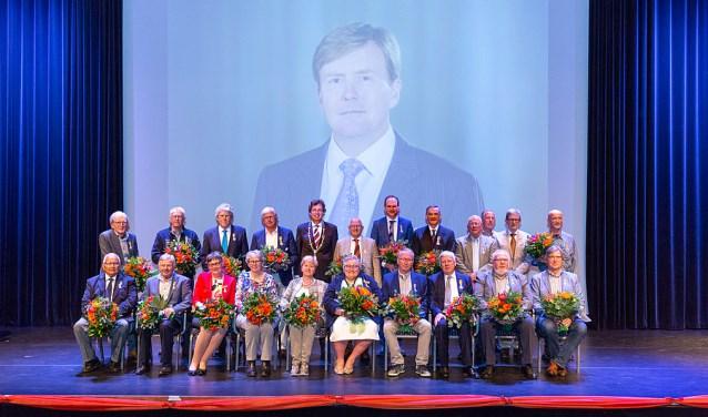 Koninklijke onderscheiding voor 22 inwoners van de gemeente Ede.