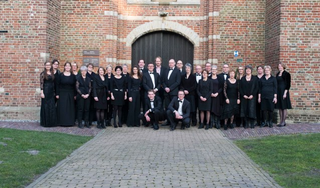 Het Zeeuws Vocaal Ensemble bestaat dertig jaar. FOTO: PR