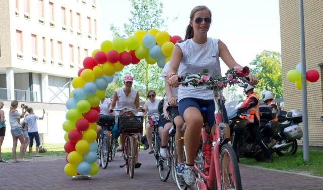 Maureen Smeijers heeft in 2012 ook meegedaan aan de Ketting van Ballonnen.  Foto: Iris Spaink.