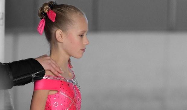 Jolanda in opperste concentratie voor aanvang van haar wedstrijd. Foto: Anna Photographics