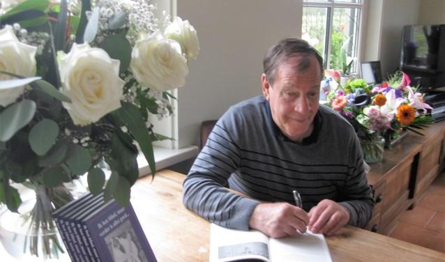 Eibert Pieper heeft boek uitgebracht met zijn levensverhaal. Foto: Eigen foto