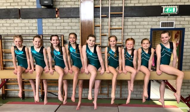 Het team van Olympia na de wedstrijd. (foto: pr)