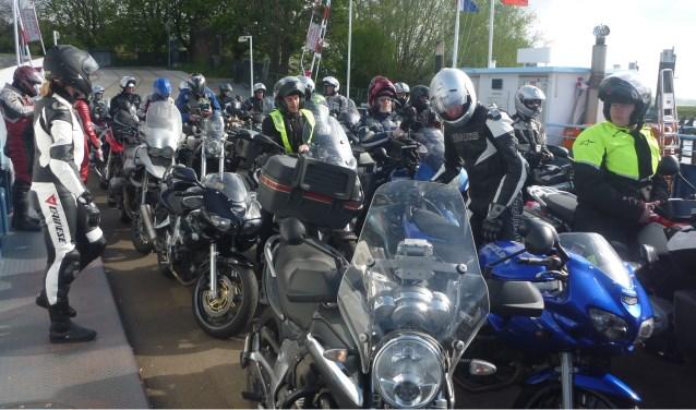 Wageningse Motorclub De Rijnridders houdt op zondag 8 april voor de 44e keer 'De Rijnroute'.