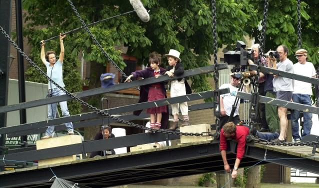 Ook de film Pietje Bel werd gedeeltelijk opgenomen in Dordrecht. (foto: Rinie Boon)