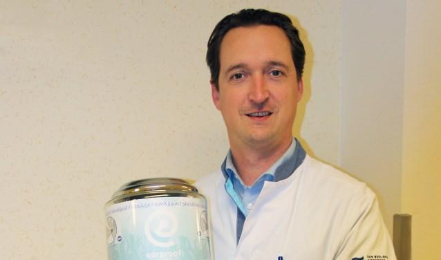 KNO-arts Briët van het Spijkenisse Medisch Centrum