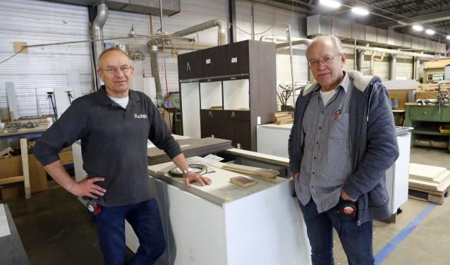 Het familiebedrijf Van Piet en Toon Smits bestaat al 34 jaar. FOTO: Bert Jansen.