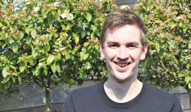 Pieter-Jan van Rossen (33) is voor zijn gevoel al helemaal ingeburgerd in de Nunspeetse samenleving. Als raadslid voor Gemeentebelang wil hij zich inzetten voor alle Nunspeters. Foto Dick Baas