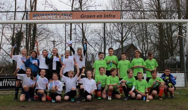 Winnaars schoolvoetbal 2018