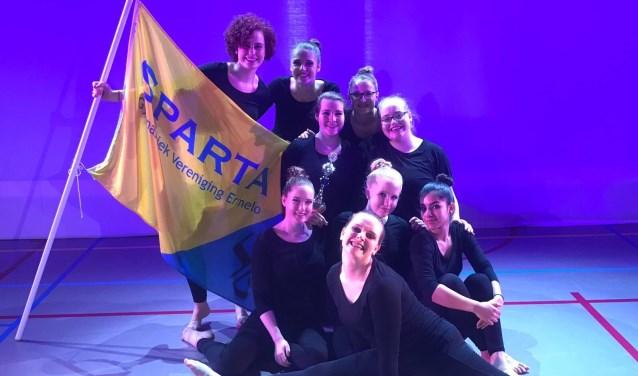 We zijn super trots op de meiden van GV Sparta: ze zijn afgelopen zaterdag 3e geworden op het NK Dans in Dordrecht: Gefeliciteerd dames!
